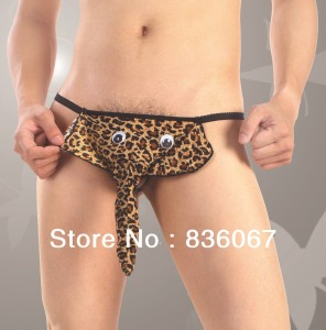 Free-Shipping-The-Elephant-Nose-Underwear-T-pants-Sex-Appeal-Sexy-Thong-Animals-Men-s-Underwear