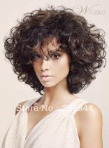 100-Remy-Black-Brazilian-Hair-body-wave-130-180-density-Fluffy-Medium-font-b-Curly-b