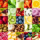 39690479-colorful-fruit-and-vegetable-collage-food-background-with-assorted-fall-berries-basil-apple-orange-c